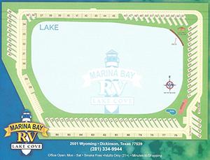 Marina Bay Lake Cove Map